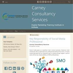 Key Responsibility of Social Media Professional