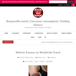 Website Focuses on Worldwide Travel