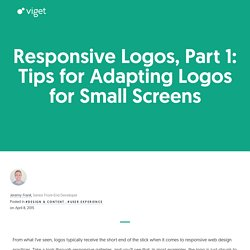 Responsive Logos, Part 1: Tips for Adapting Logos for Small Screens