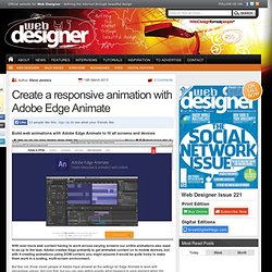 Create a responsive animation with Adobe Edge Animate