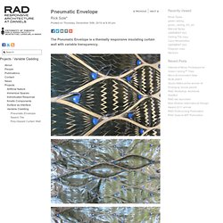 Pneumatic Envelope « RAD: Responsive Architecture at Daniels