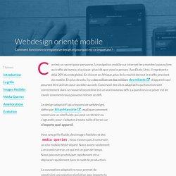 Responsive webdesign avangtages et bonnes pratiques