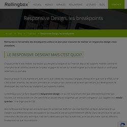Responsive Design, les breakpoints - Rollingbox