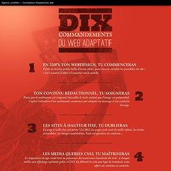 Les 10 commandements du web adaptatif