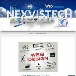 USA Responsive Web Design Company – nexvistech