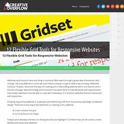 12 Flexible Grid Tools for Responsive Websites