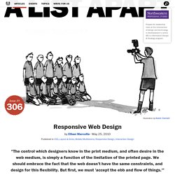 Responsive Web Design · An A List Apart Article
