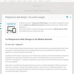 Responsive web design : Les autres usages