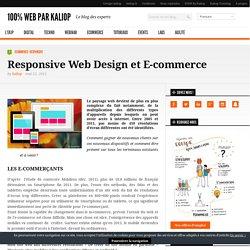 Responsive Web Design et E-commerce - 100% web par Kaliop
