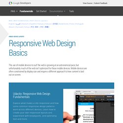 Responsive Web Design Basics — Web Fundamentals