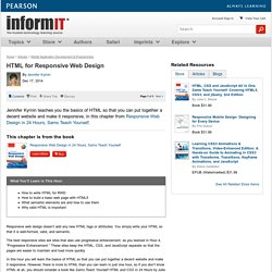 HTML for Responsive Web Design