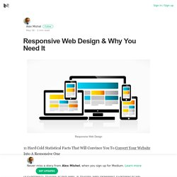 Responsive Web Design & Why You Need It – Alex Mishel – Medium