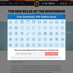 The new rules of the responsive web
