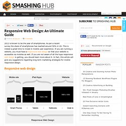 Responsive Web Design: An Ultimate Guide