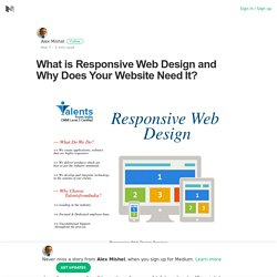 What is Responsive Web Design and Why Does Your Website Need It?