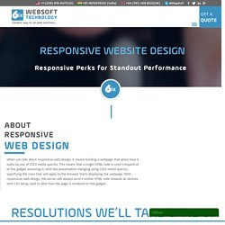 Responsive Website design San Francisco
