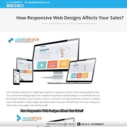 How Responsive Web Designs Affects Your Sales?