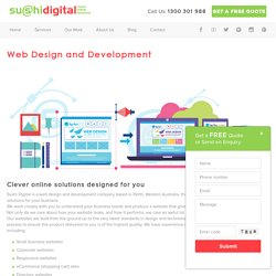 Optimised, Responsive Web Design and Development Services