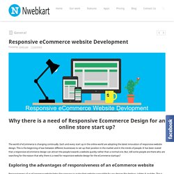 Responsive eCommerce website Development