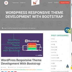 WordPress Responsive Theme Development with Bootstrap