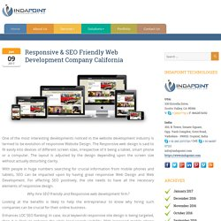 Responsive & SEO Friendly Web Design & Development Company California
