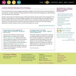4Web, Inc., Creating Highly Customized Joomla Websites - Websites