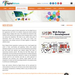 Responsive Website Design & Development company - Web design service provider Coimbatore, India