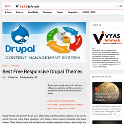 Best Free Responsive Drupal Themes