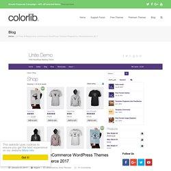 25 Free Responsive eCommerce WordPress Themes 2017