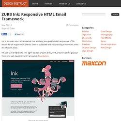 ZURB Ink: Responsive HTML Email Framework