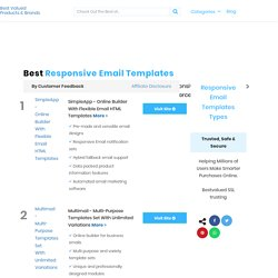 Best Responsive Email Templates In 2020