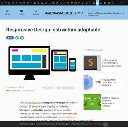 Responsive Design: estructura adaptable