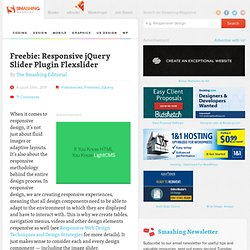 Freebie: Responsive jQuery Slider Plugin Flexslider - Smashing Magazine