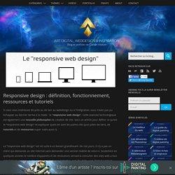 Responsive design : définition, fonctionnement, ressources et tutoriels « Design Spartan : Graphisme, Webdesign, Digital painting, Illustration…