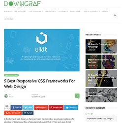 5 Best Responsive CSS Frameworks For Web Design