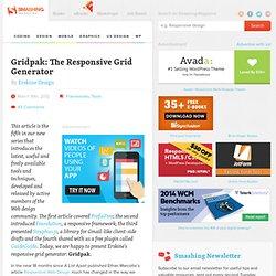 Gridpak: The Responsive Grid Generator