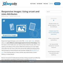 Responsive Images: Using srcset and sizes Attributes