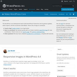 Responsive Images in WordPress 4.4