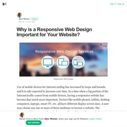 Why is a Responsive Web Design Important for Your Website?