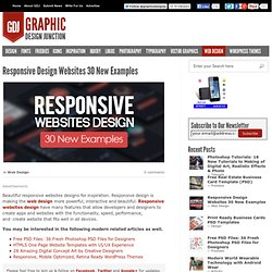 Responsive Websites Design for Inspiration