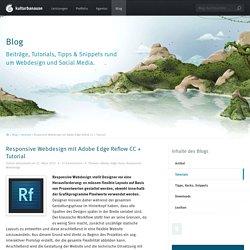 Responsive Webdesign mit Adobe Edge Reflow CC + Tutorial