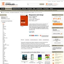 Livre Responsive web design - E. Marcotte