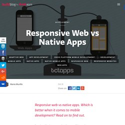 Responsive Web vs Native Apps: Which Is Better?