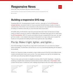 Responsive News — Building a responsive SVG map