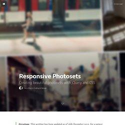 Responsive Photosets — Coding & Design