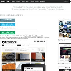 WordPress Themes Free & Premium Grid Based - Dessign