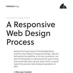 A Responsive Web Design Process