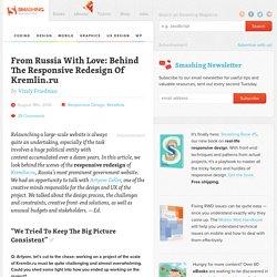 Behind The Responsive Redesign Of Kremlin.ru