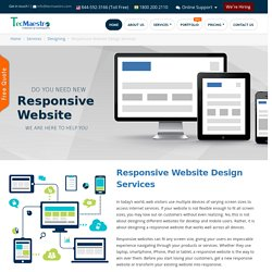 Responsive Website Design Services in India