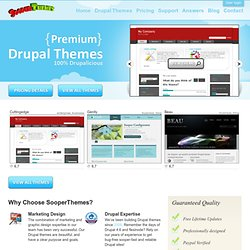 All Drupal Themes | Providing free high quality Drupal themes!
